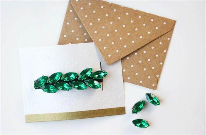 Easy Rhinestone-Studded DIY Hair Accessories