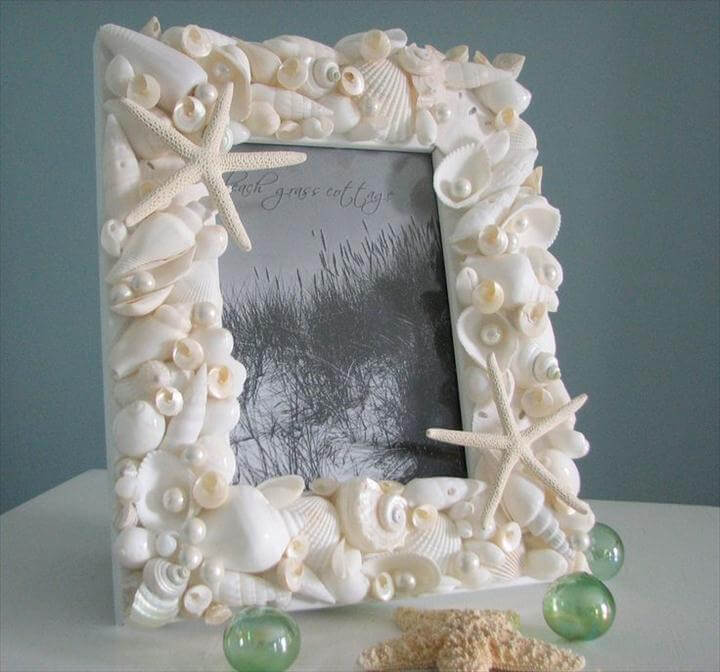 Extremely Easy DIY Seashell Decoration Ideas