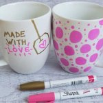Sharpie Mugs, DIY Teen Gifts