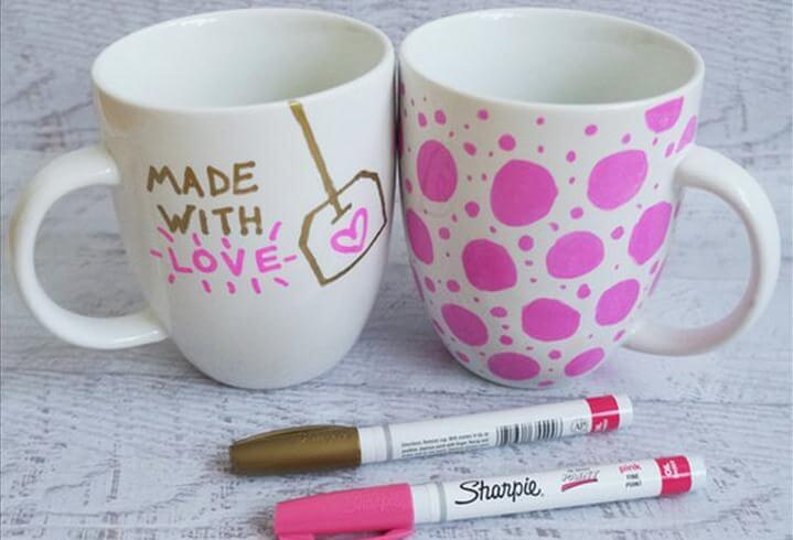 Sharpie Mugs, DIY Teen Gifts