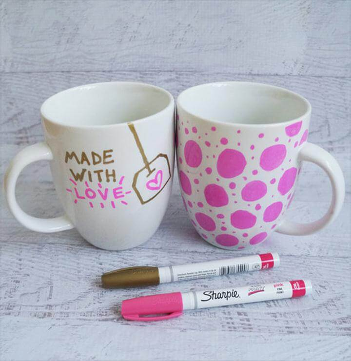 9a51dbf5417 Sharpie Mugs, DIY Teen Gifts