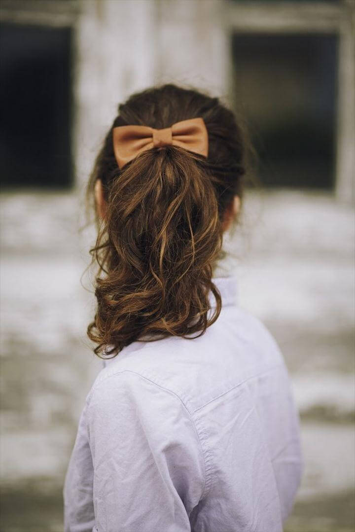 DIY Bow Pony