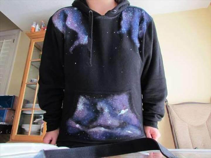 DIY Star Swirled Sweatshirts