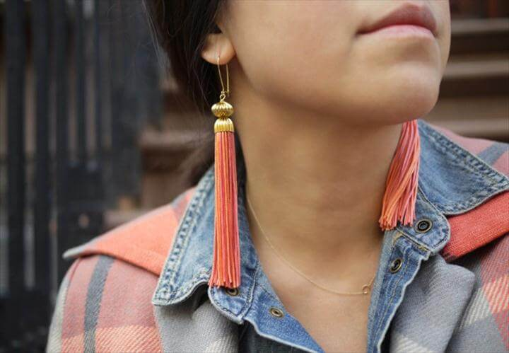 Super Easy DIY Tassel Jewelry Projects
