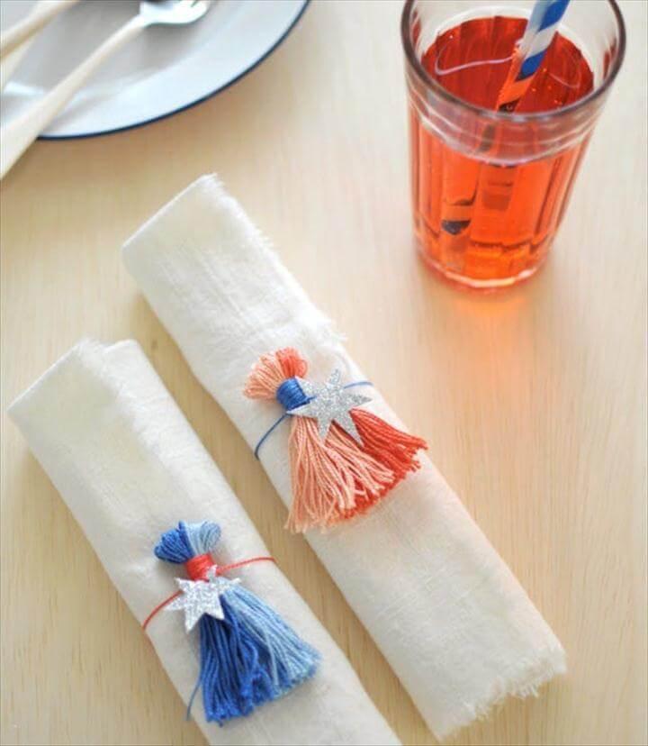 tassel napkin
