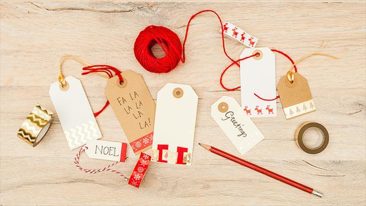 DIY gift tag ideas