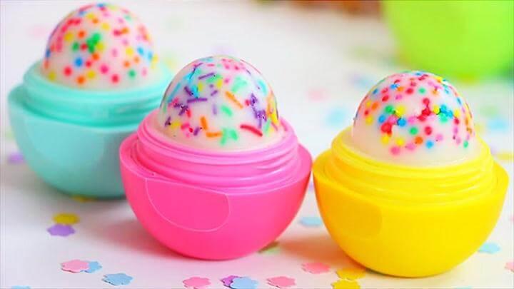 Cupcake EOS Lip Tutorial