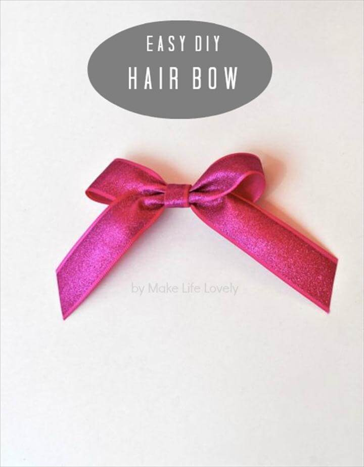ribbon hair bow