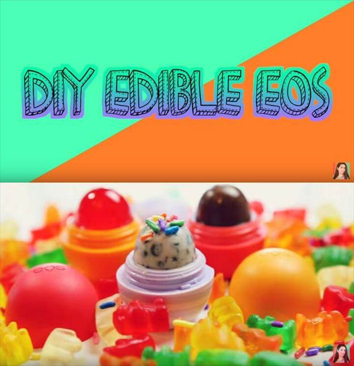 Best DIY EOS Projects - DIY Edible EOS - Turn Old EOS Containers Into Cool Crafts