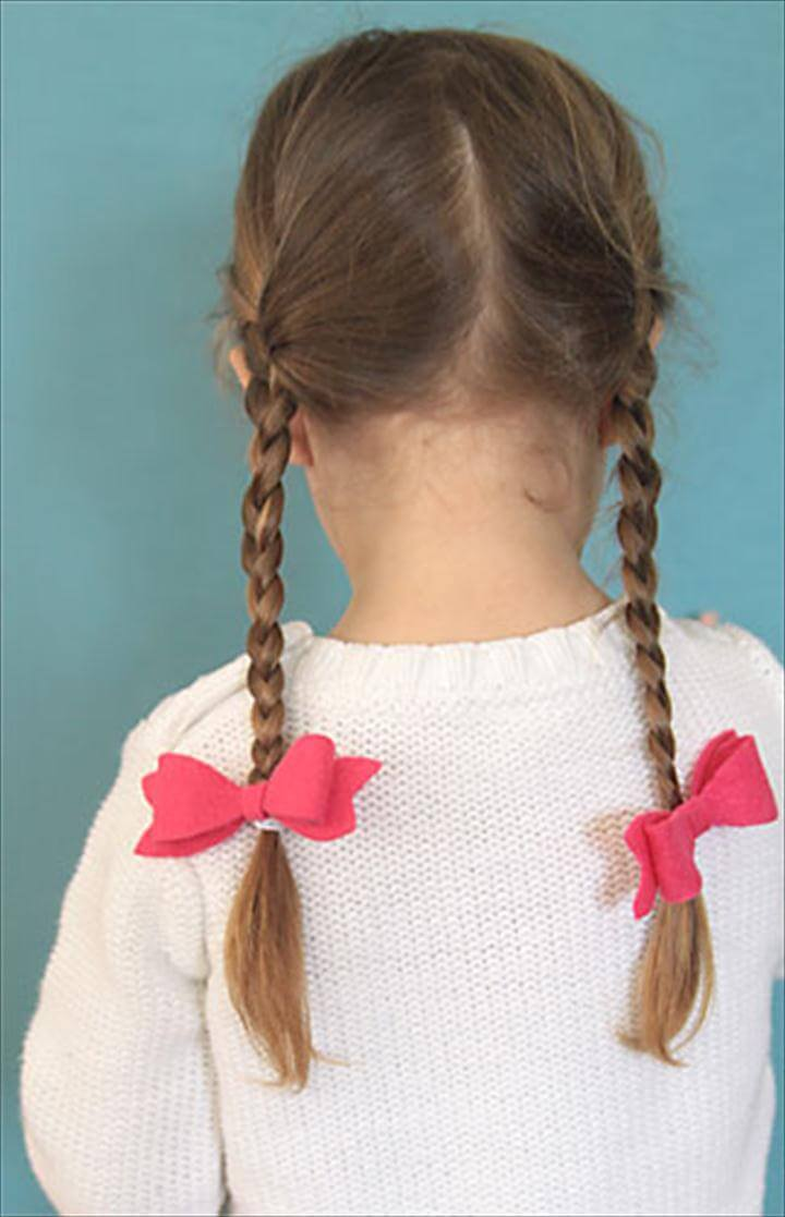 easy DIY hair bow elastics - my daughter would love these! great gift idea,