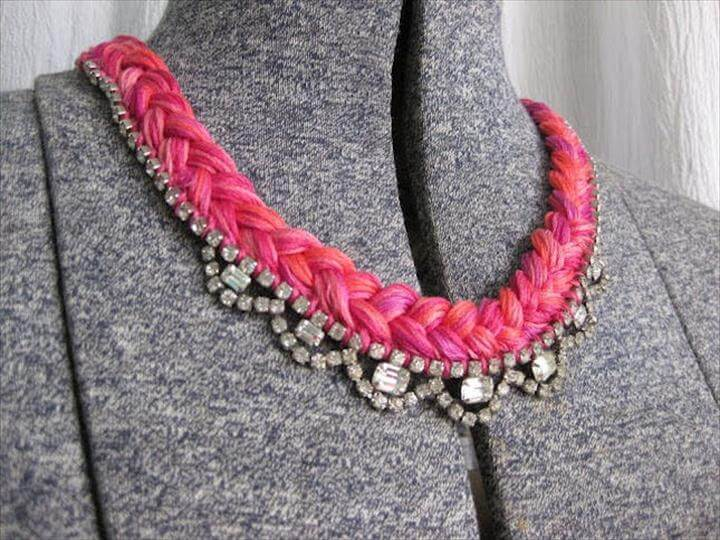 Braided Statement Necklace
