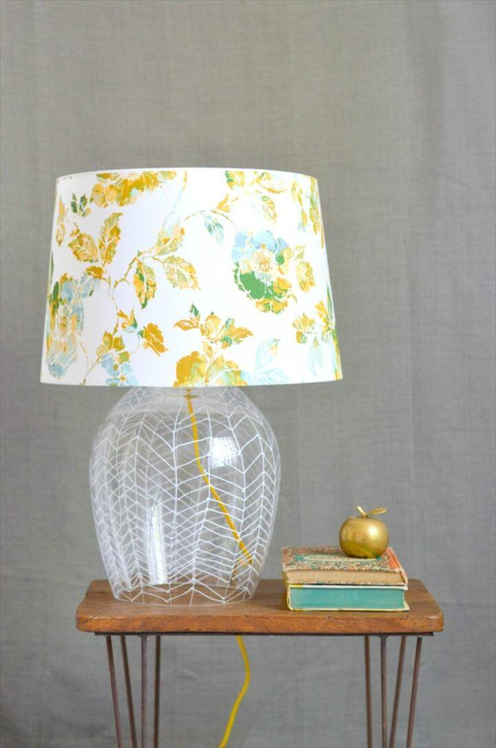 Herringbone Lamp