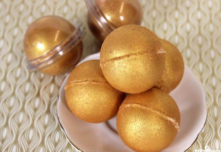 Midas Touch Bath Bombs