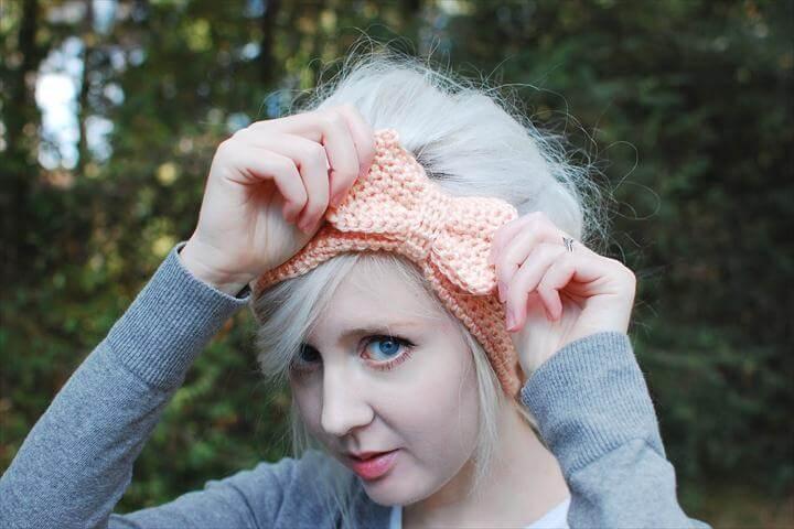 hair bow, diy headband, cute diy bow
