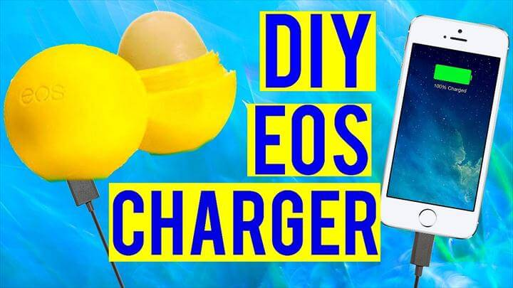 diy charger, Charge Your Phone with an EOS