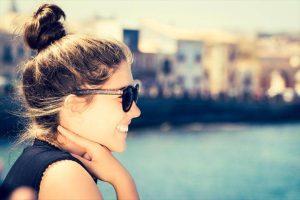 Brunette bun no heat summer hair