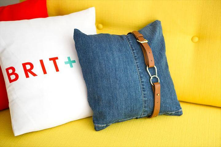 Upcycle Your Jeans into Pillows and Bags