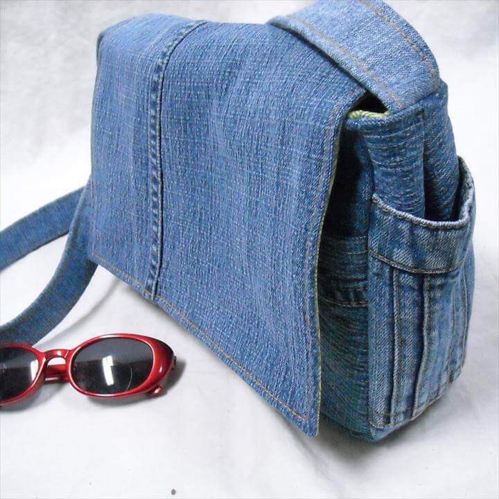 Tote Bag Out Of Jeans