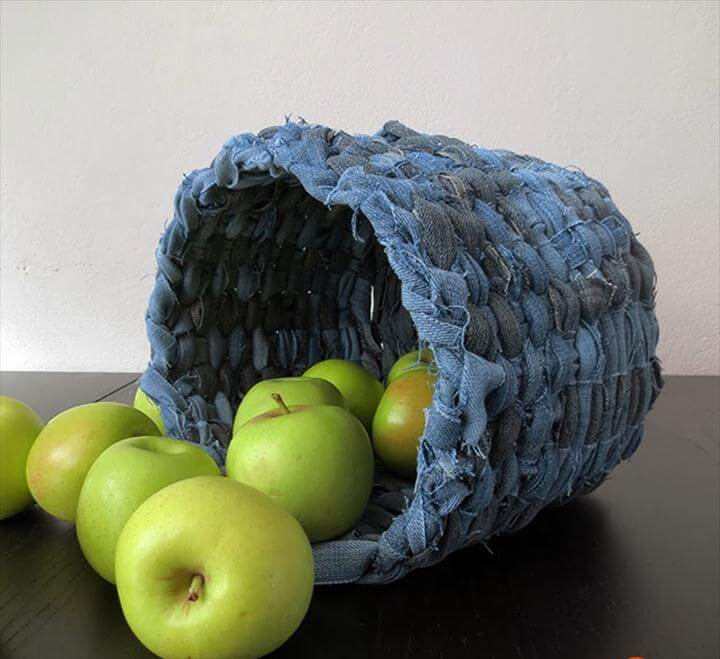 The Art Of Up-Cycling: Craft Ideas With Old Jeans - Creative Ideas to Start Today