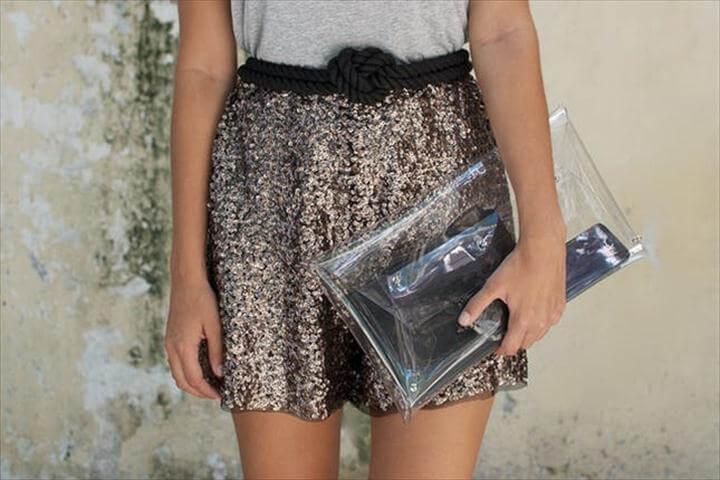 Glittery Shorts
