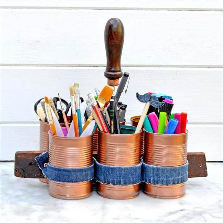 Upcycled Craft Caddy