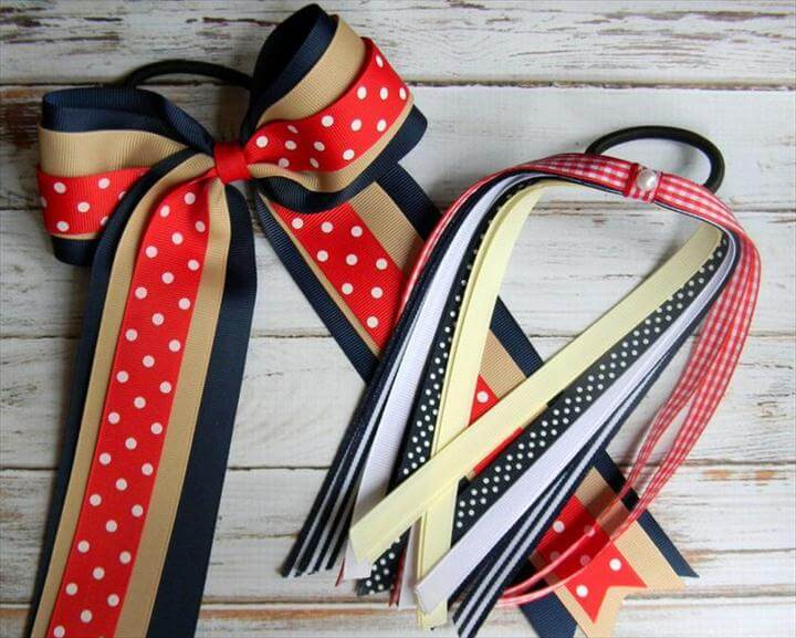 Cheer Bows, Hair Bows, School Colors Cheer Bow Set, Custom Hair bows, Hair bows, Girls Hair bows, Made to Match School Uniform Hair bows, Easy-Peasy Tutorials for Unique Hair Bows