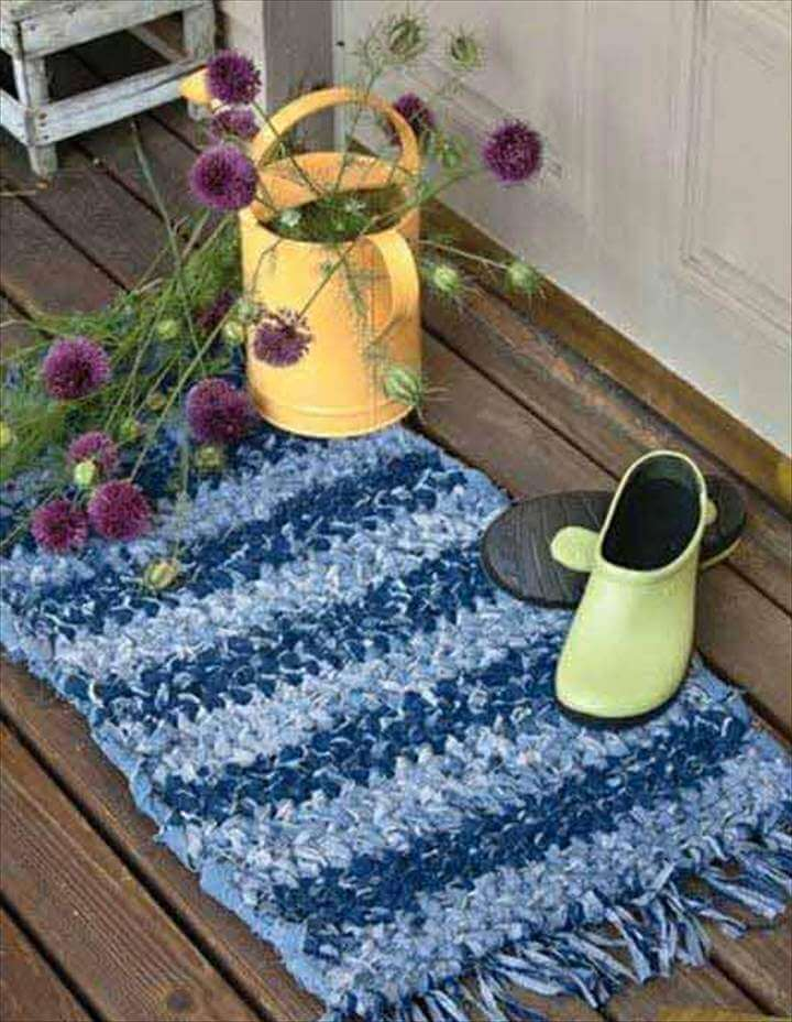 Unusual Cool Ways to Upcycle Old jeans Into DIY Projects homesthetics decor