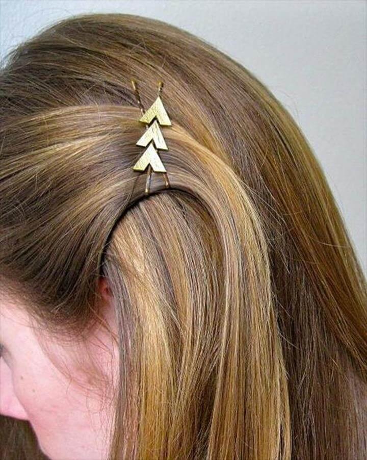 diy pretty hair pins, Hunger Games Katniss-Inspired Hair Clip