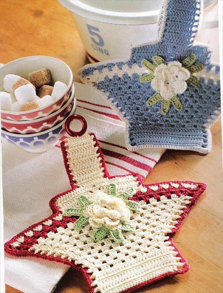 Interior decorating with crochet items. decorations ideas crochet homes