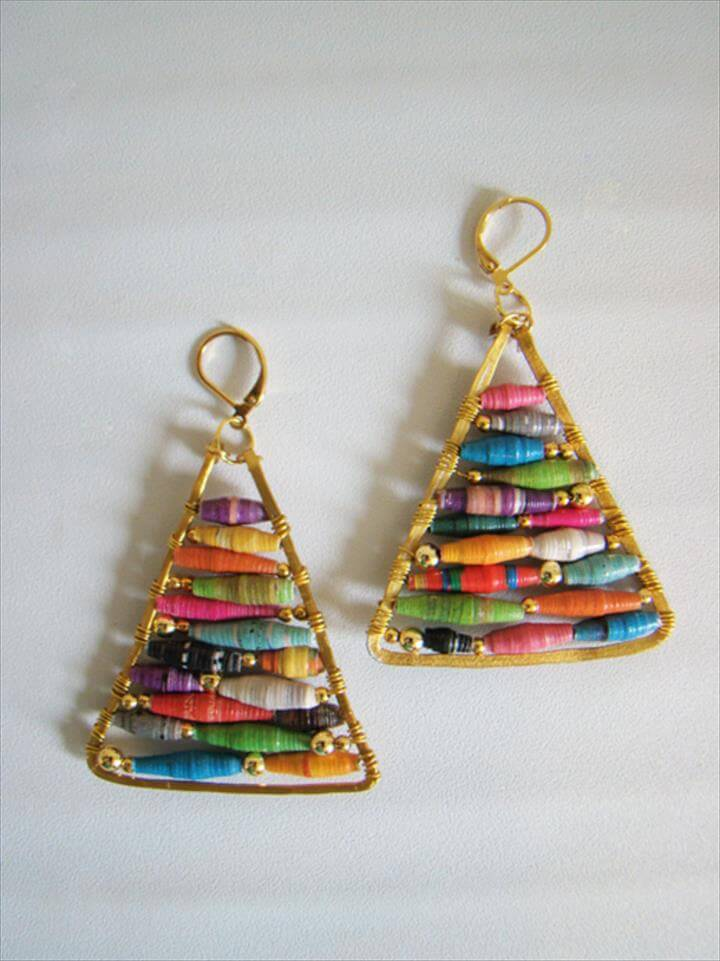 DIY Earrings Projects For Spring