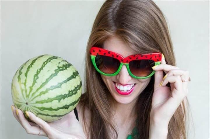 watermelon color sunglass