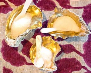 Oyster Shell Salt Cellars