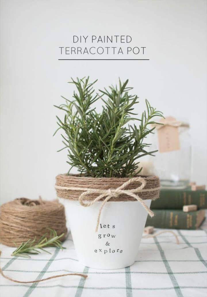terracotta planter pot