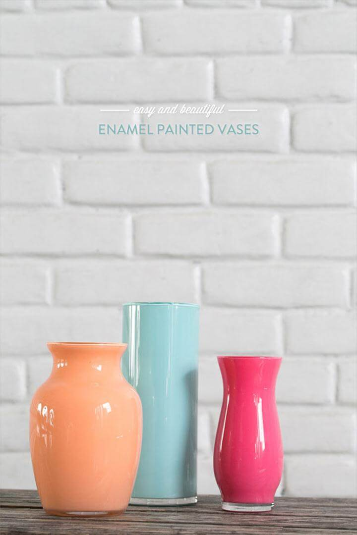 dorm room decorating ideas, colorful vases, home decor diy