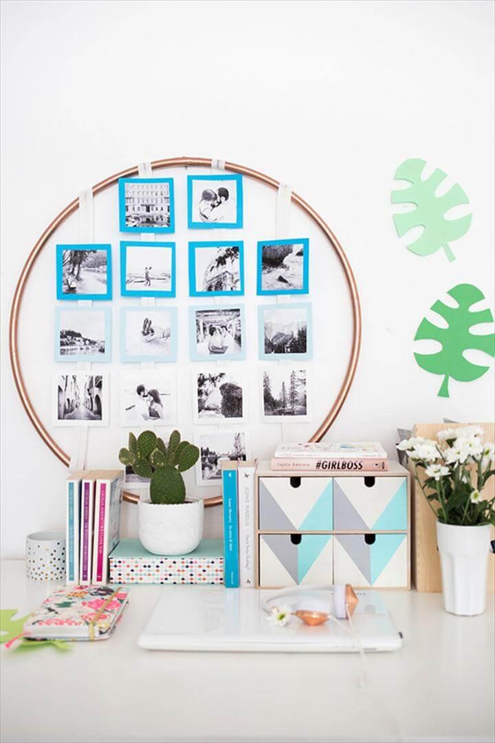 Easy Photo Display DIY