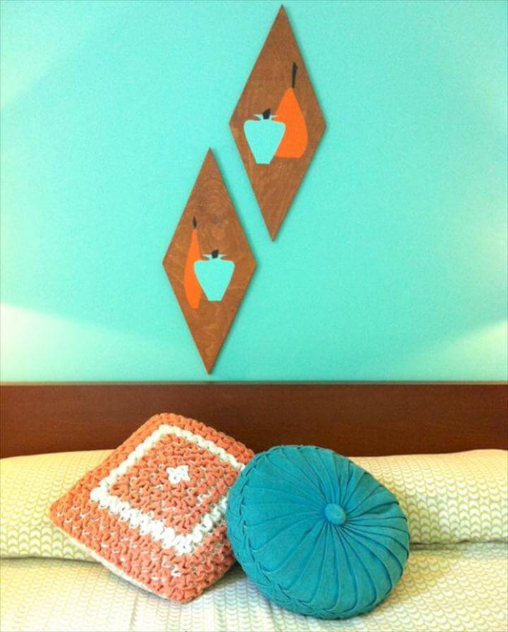 DIY Wall Art Ideas and Do It Yourself Wall Decor for Living Room, Bedroom,