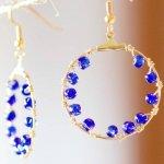 Gorgeous DIY Salacia Hoop Earrings