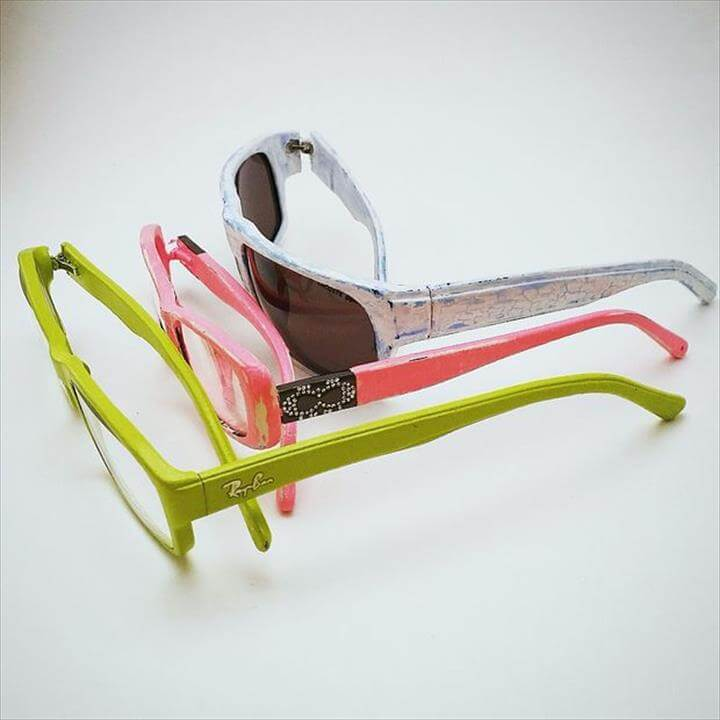 DIY Sunglasses Makeovers - Change Your Glasses Color and Finish - Fun Ways to Decorate and