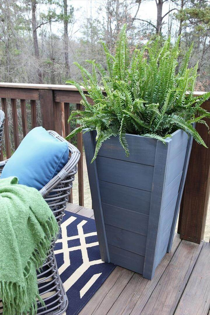 pallet tall planters