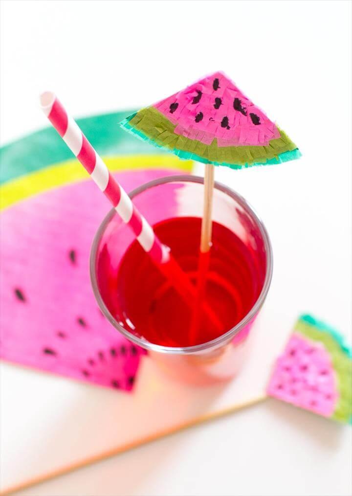 Watermelon Drink Stirrer