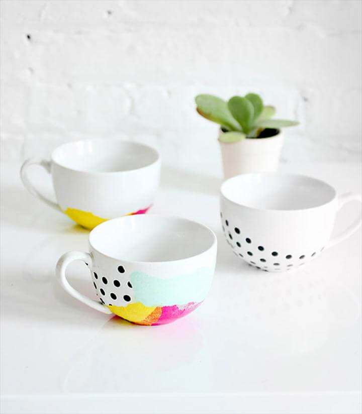 diy coffee mugs Keep Cozy with DIY Coffee Mugs