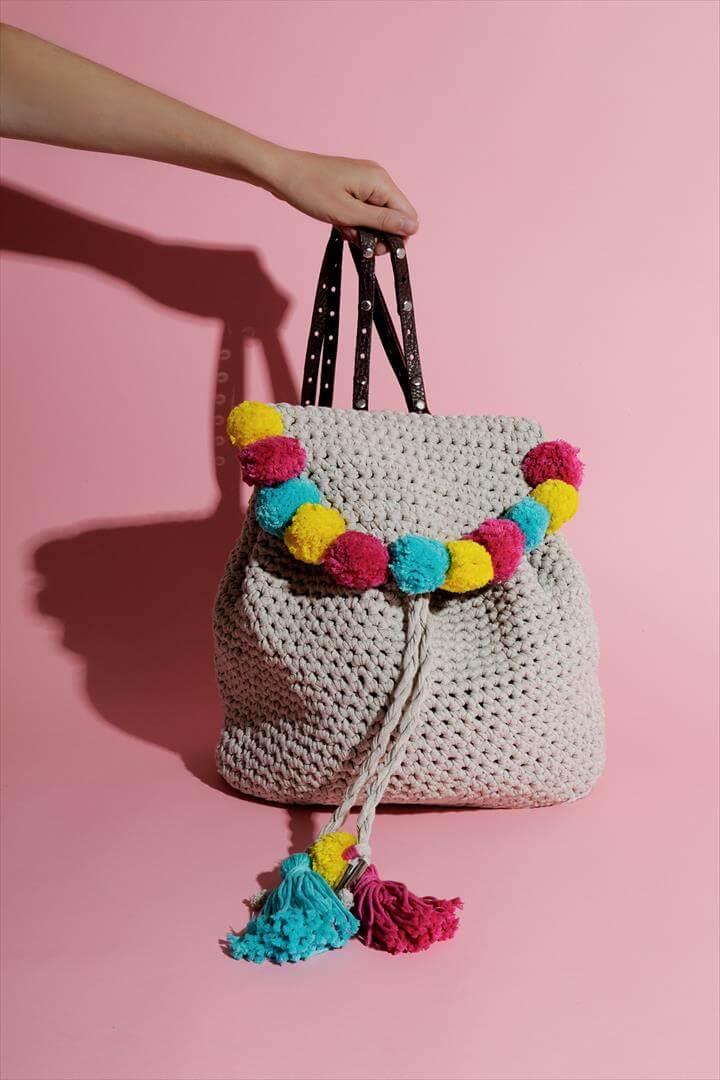 jazz up a DIY backpack