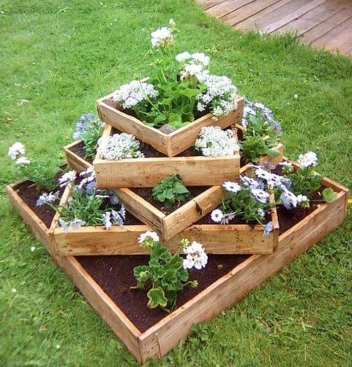 pallet amazing planters