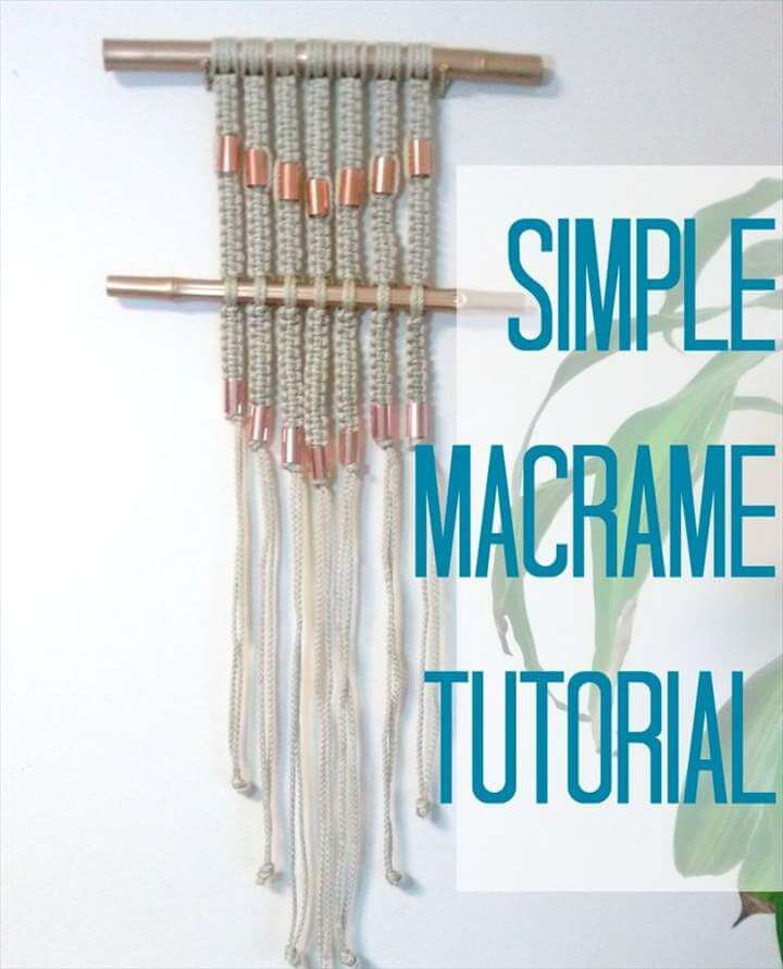Macrame DIY Projects You Will Love