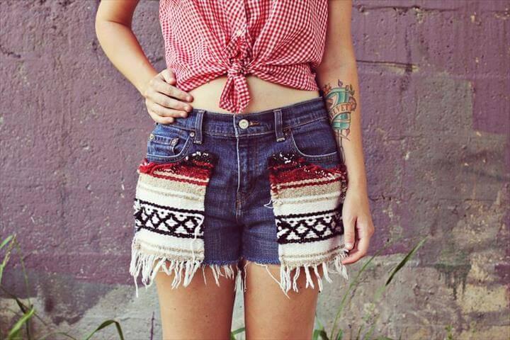 Southwestern style shorts Southwestern shorts