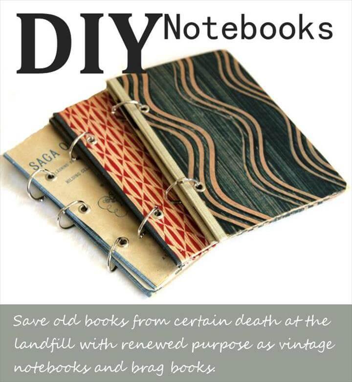 diy note books