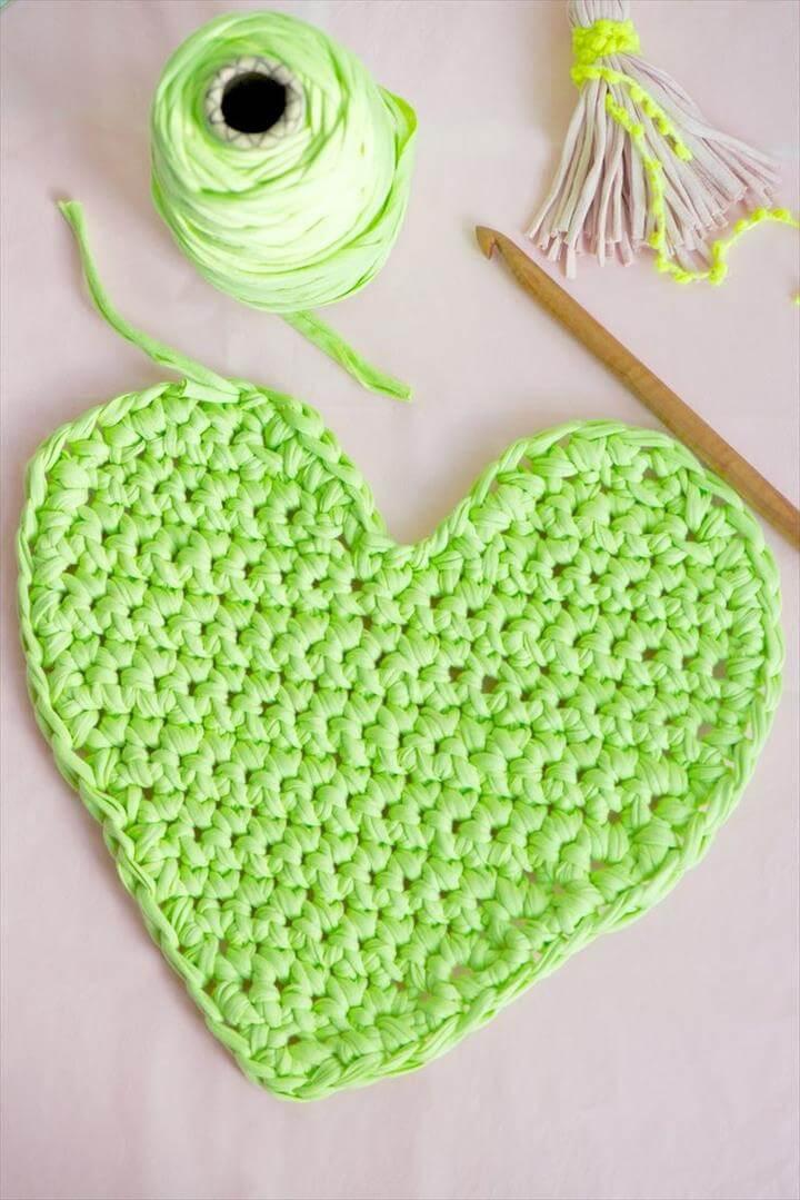 Heart Crochet Tutorial
