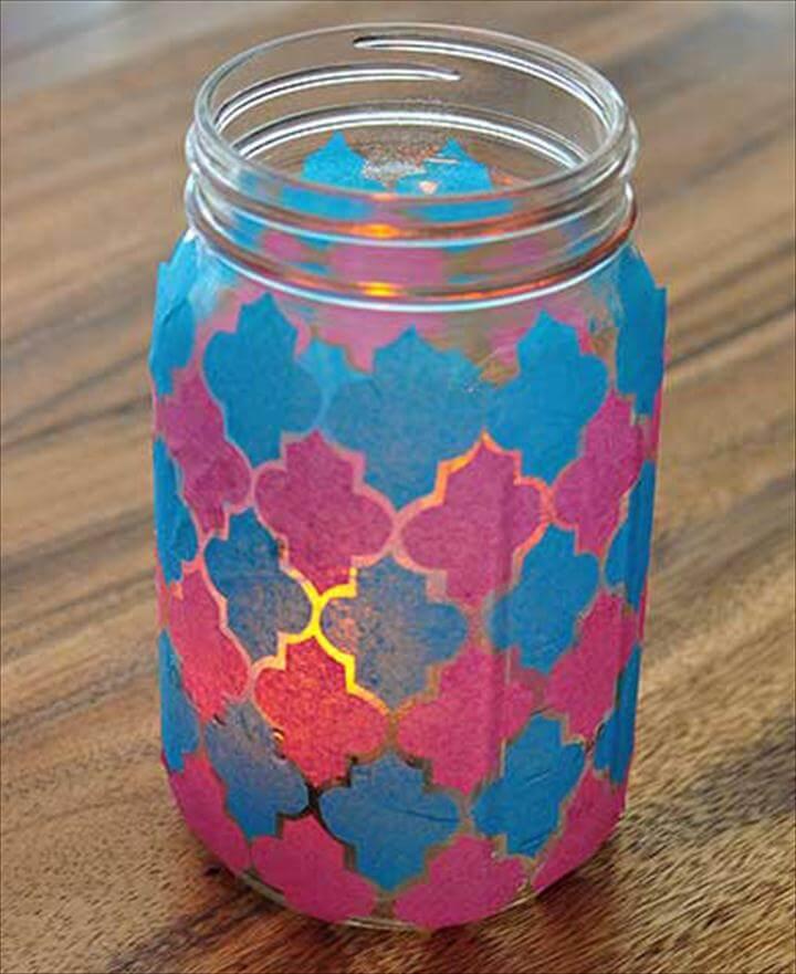 luminary mason jar