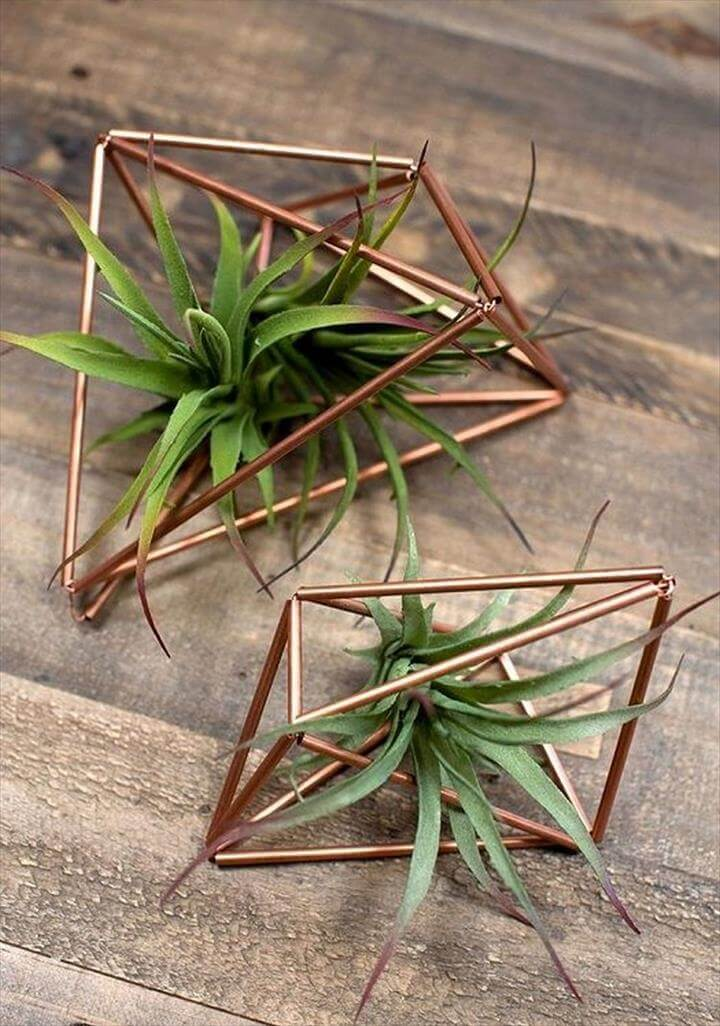 Easy Art Copper Plant Hangers