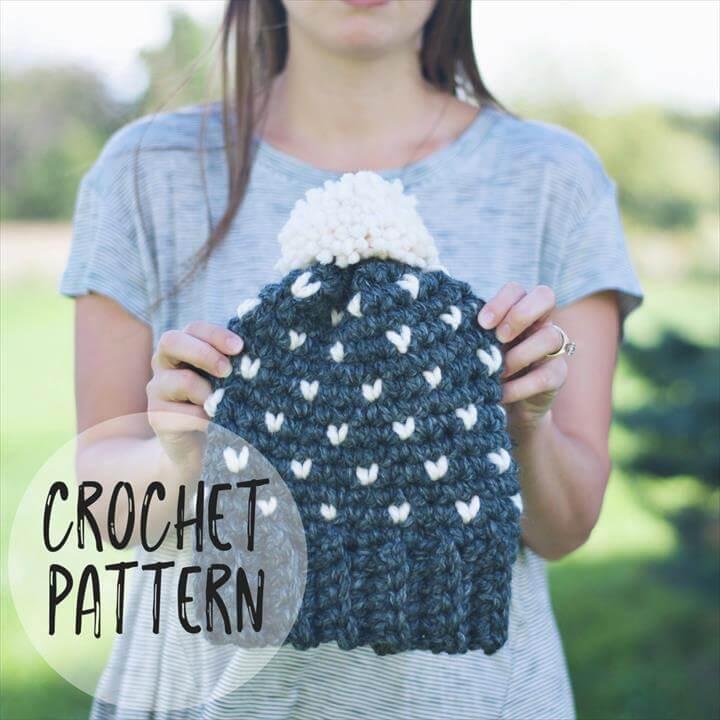 Rapids Hat Crochet Pattern
